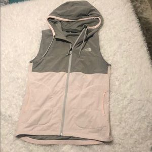 North face mountain sweatshirt vest